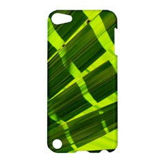 Frond Leaves Tropical Nature Plant Apple Ipod Touch 5 Hardshell Case by Amaryn4rt