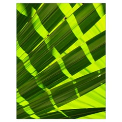 Frond Leaves Tropical Nature Plant Drawstring Bag (Large)
