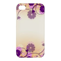 Floral Background Apple Iphone 4/4s Hardshell Case
