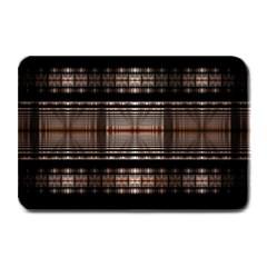 Fractal Art Design Geometry Plate Mats by Amaryn4rt
