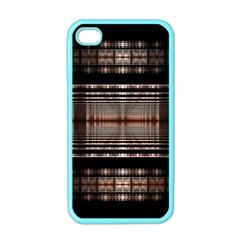 Fractal Art Design Geometry Apple Iphone 4 Case (color)