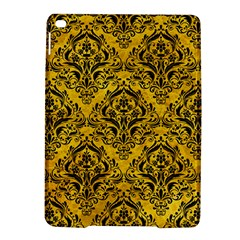 Damask1 Black Marble & Yellow Marble (r) Apple Ipad Air 2 Hardshell Case by trendistuff