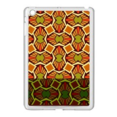 Geometry Shape Retro Trendy Symbol Apple Ipad Mini Case (white) by Amaryn4rt