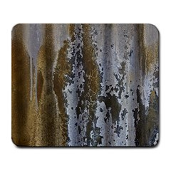 Grunge Rust Old Wall Metal Texture Large Mousepads by Amaryn4rt