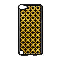 CIR3 BK-YL MARBLE Apple iPod Touch 5 Case (Black) by trendistuff