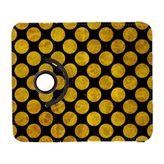Circles2 Black Marble & Yellow Marble Samsung Galaxy S  Iii Flip 360 Case by trendistuff