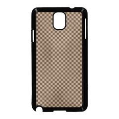 Pattern Background Diamonds Plaid Samsung Galaxy Note 3 Neo Hardshell Case (black) by Amaryn4rt