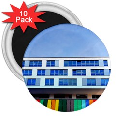 Office Building 3  Magnets (10 pack)  by Amaryn4rt