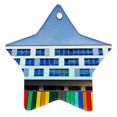 Office Building Star Ornament (two Sides) by Amaryn4rt