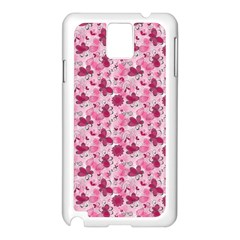 Pink Dreams Doodles Samsung Galaxy Note 3 N9005 Case (white) by KirstenStar