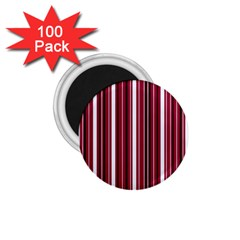 Red Lines 1 75  Magnets (100 Pack)  by Valentinaart