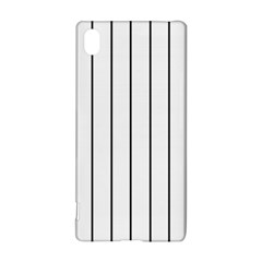 White and black lines Sony Xperia Z3+ by Valentinaart