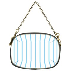 Blue Lines Chain Purses (one Side)  by Valentinaart