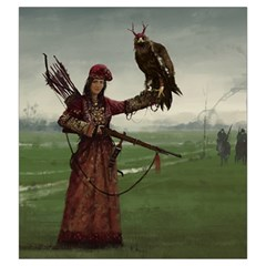Scythe Big Bag Faction 5 By Sims   Drawstring Pouch (large)   Fup31dyye5zr   Www Artscow Com Front