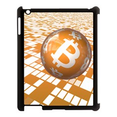 Network Bitcoin Currency Connection Apple Ipad 3/4 Case (black)