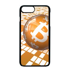 Network Bitcoin Currency Connection Apple Iphone 7 Plus Seamless Case (black) by Amaryn4rt