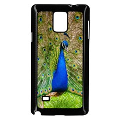 Peacock Animal Photography Beautiful Samsung Galaxy Note 4 Case (black)