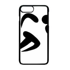 Athletics Pictogram Apple Iphone 7 Plus Seamless Case (black) by abbeyz71