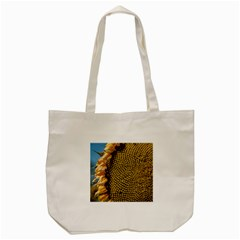 Sunflower Bright Close Up Color Disk Florets Tote Bag (cream) by Amaryn4rt