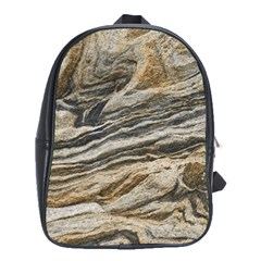 Rock Texture Background Stone School Bags(large)  by Amaryn4rt