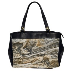 Rock Texture Background Stone Office Handbags (2 Sides)  by Amaryn4rt