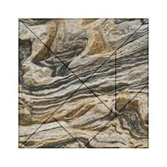 Rock Texture Background Stone Acrylic Tangram Puzzle (6  X 6 ) by Amaryn4rt