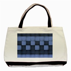 Texture Structure Surface Basket Basic Tote Bag