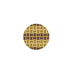 Textile Texture Fabric Material 1  Mini Buttons by Amaryn4rt