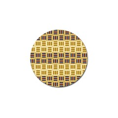 Textile Texture Fabric Material Golf Ball Marker (10 Pack) by Amaryn4rt
