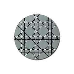 Texture Backgrounds Pictures Detail Rubber Round Coaster (4 Pack)  by Amaryn4rt