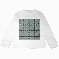 Texture Backgrounds Pictures Detail Kids Long Sleeve T-Shirts by Amaryn4rt