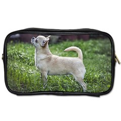 Chihuahua Full Toiletries Bags 2-Side by TailWags