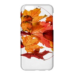 Autumn Leaves Leaf Transparent Apple Iphone 6 Plus/6s Plus Hardshell Case by Amaryn4rt