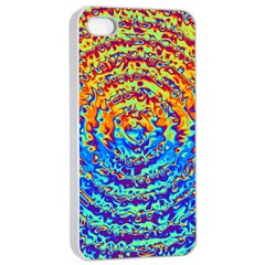 Background Color Game Pattern Apple Iphone 4/4s Seamless Case (white) by Amaryn4rt
