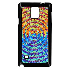 Background Color Game Pattern Samsung Galaxy Note 4 Case (black) by Amaryn4rt