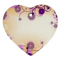 Background Floral Background Ornament (heart)