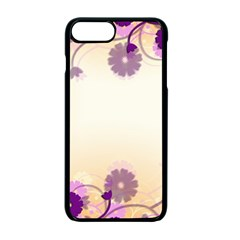 Background Floral Background Apple Iphone 7 Plus Seamless Case (black)