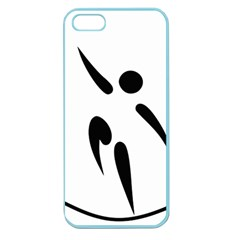 Aéroball Pictogram Apple Seamless Iphone 5 Case (color) by abbeyz71
