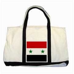 Flag Of Syria Two Tone Tote Bag by abbeyz71
