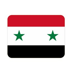 Flag Of Syria Double Sided Flano Blanket (mini)  by abbeyz71