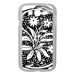 Decoration Pattern Design Flower Samsung Galaxy Grand Duos I9082 Case (white) by Amaryn4rt