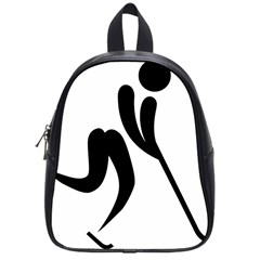 Bandy Pictogram School Bags (small)  by abbeyz71