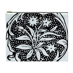 Decoration Pattern Design Flower Cosmetic Bag (xl) by Amaryn4rt