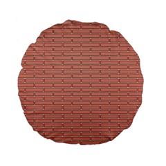 Brick Lake Dusia Wall Standard 15  Premium Flano Round Cushions by Amaryn4rt