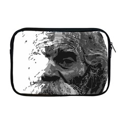 Grandfather Old Man Brush Design Apple Macbook Pro 17  Zipper Case by Amaryn4rt