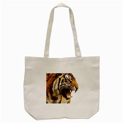 Royal Tiger National Park Tote Bag (cream) by Amaryn4rt