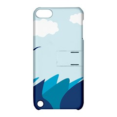 Sea Apple Ipod Touch 5 Hardshell Case With Stand by Amaryn4rt