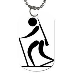 Biathlon Pictogram Dog Tag (two Sides) by abbeyz71
