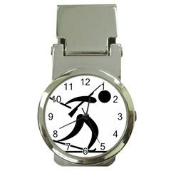 Biathlon Pictogram Money Clip Watches by abbeyz71