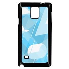 Blue Sky Samsung Galaxy Note 4 Case (black) by Jojostore